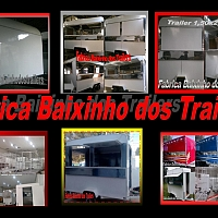 Fábrica  Trailers lanches  e FoodTruck baixinho dos Trailers
